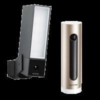 Netatmo Sicherheits Duo - Smarte Außenkamera und Smarte Innenkamera - Presence und Welcome