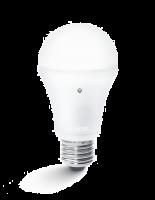 Steinel Sensor-LED-Lampe ESL LED 8,5 W | Energiespar-LED mit E27 Fassung mit Dämmerungssensor
