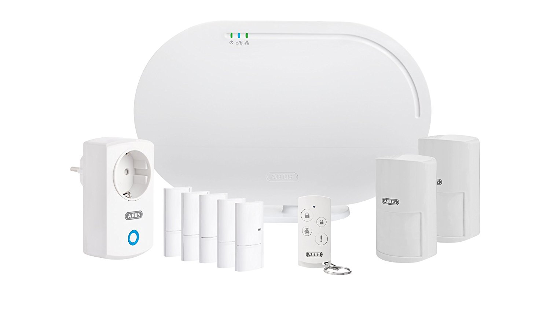 ABUS Haus Alarmanlagenset FUAA35210A Smartvest, Komplettset Haussicherheit