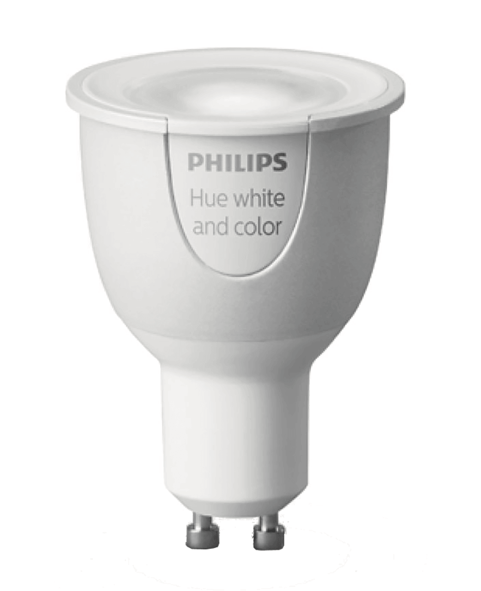 LED GU10 Weiß & Farbig Philips Hue Erweiterung RGBW