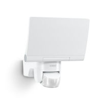 Steinel LED Außenbeleuchtung Strahler XLED Home 2 Connect weiß | Bluetooth App schwenkbar IP44