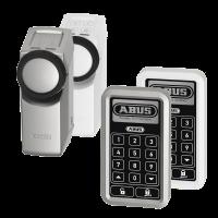 ABUS Funk-Türschlossantrieb mit Funk-Tastatur in silber oder weiß