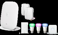 Paket Sicherheit & Licht Magenta SmartHome | Philips Hue Lampen + Smart Home System