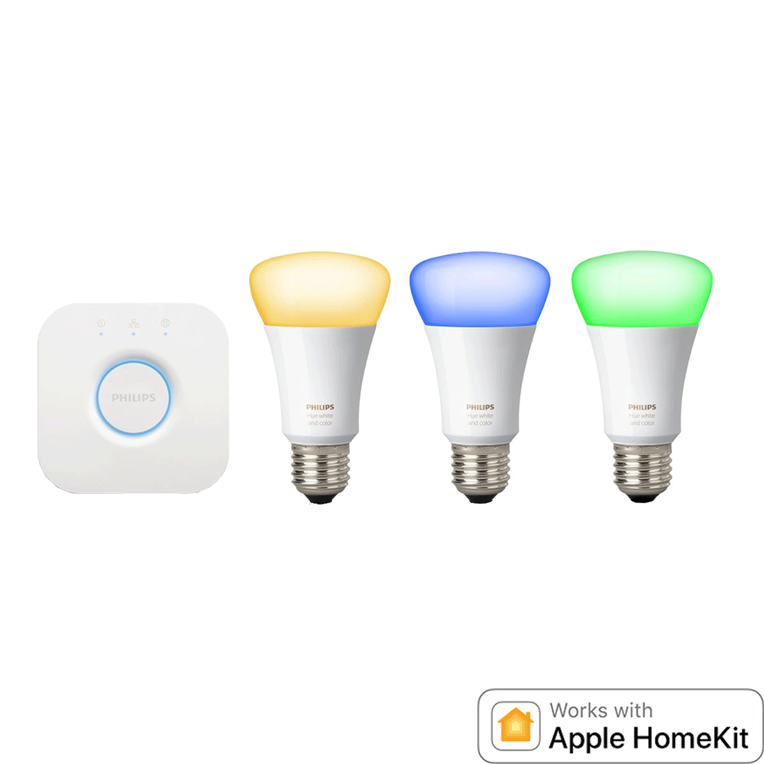 Licht Starterset Philips Hue - weißes & farbiges Licht