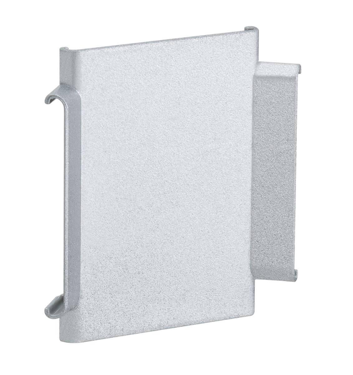 PaulmannDuo Profil X-Cover, 2er Pack, Grau, Kunststoff