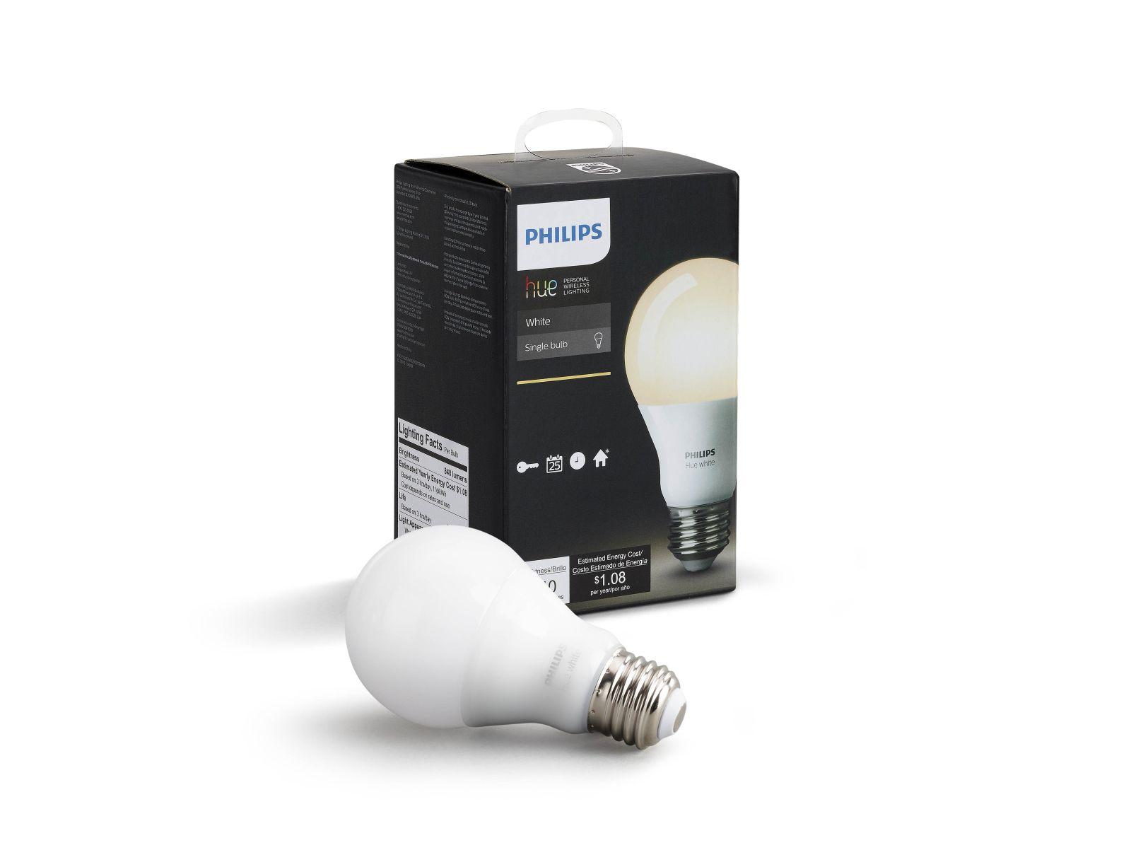 Philips Hue LED E27 Erweiterung warmweiß 9,5W dimmbar bis Kaltweiß