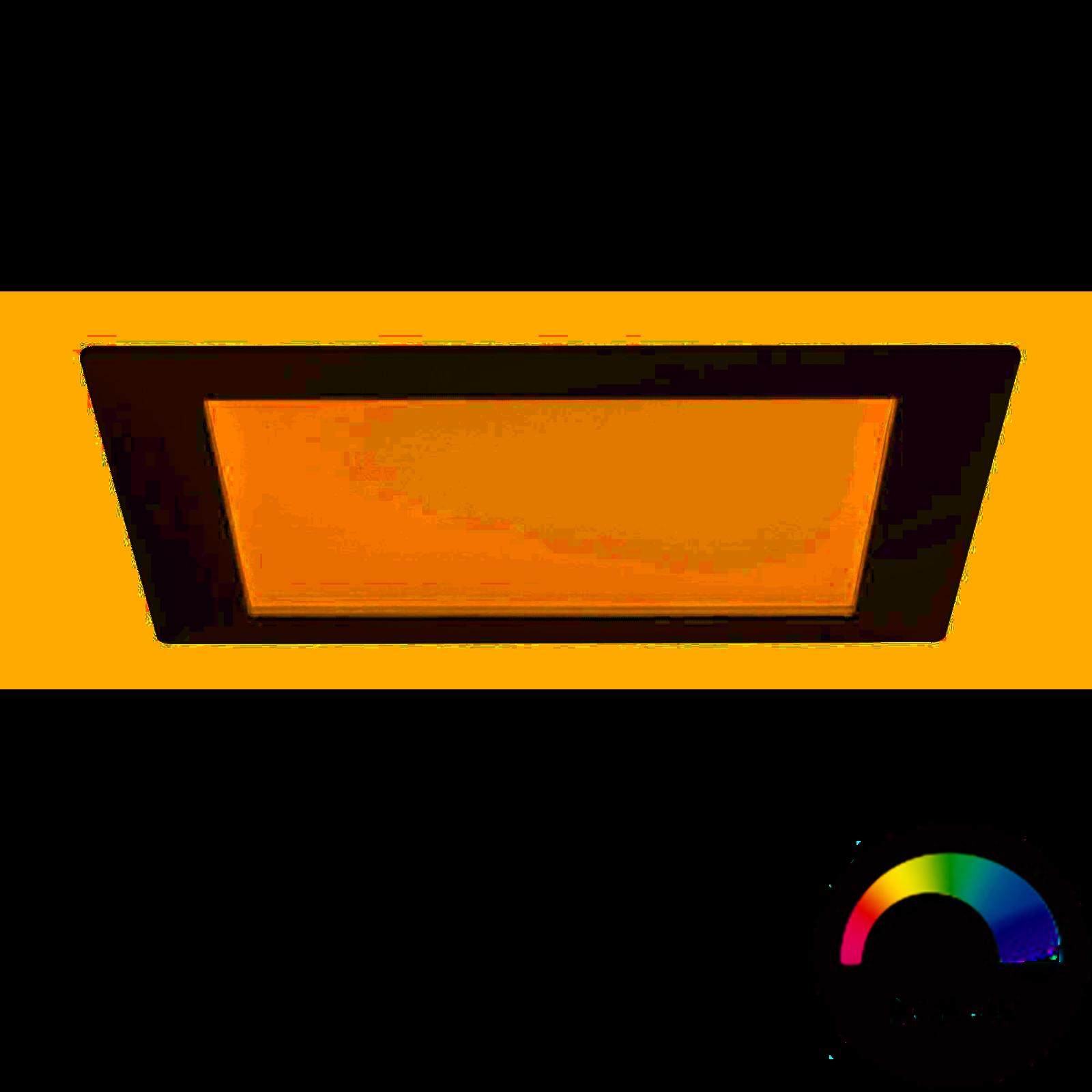 Paulmann LED Einbaupanel eckig 3,5W Weiß mit RGBW Farblichtsteuerung
