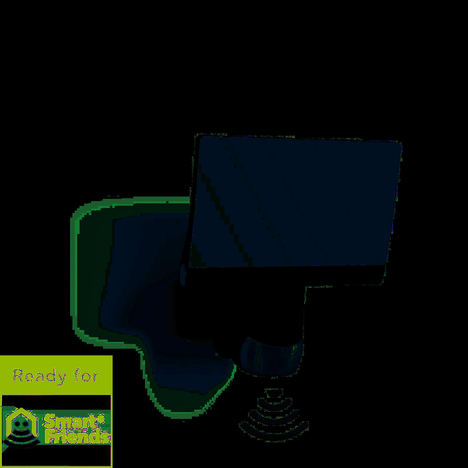 Steinel XLED home 2 Z-Wave Smart Friends Schwarz