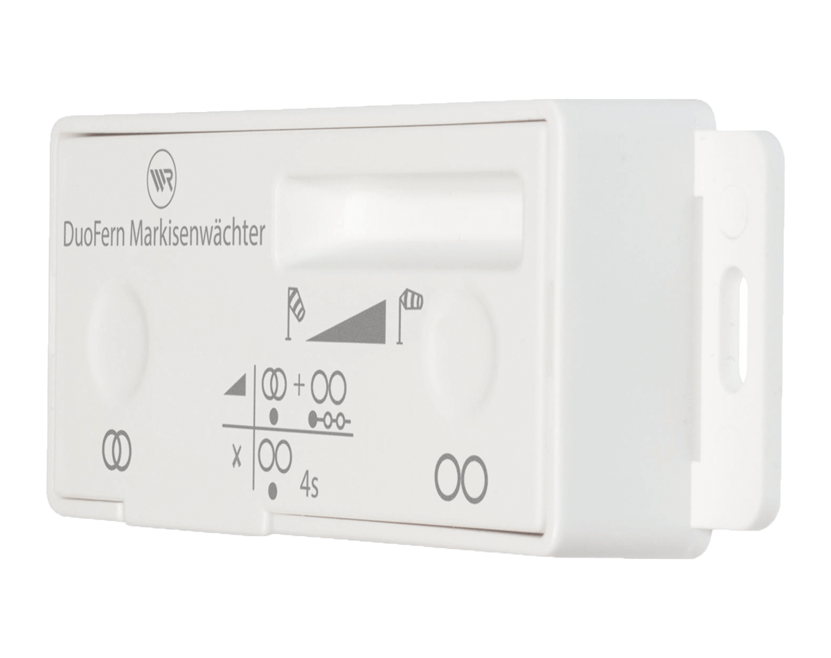 Rademacher Markisenwächter mit Duofern-Funk, Batteriebetrieben und ohne Verkabelung