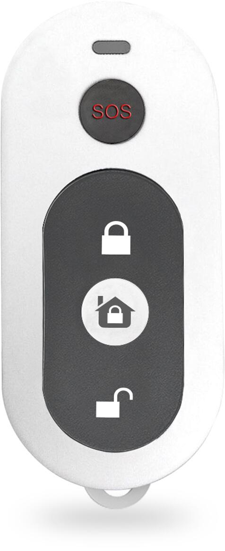 ABUS Funk-Fernbedienung Micral by CITADEL | Steuerung der Alarm Zentrale SOS Taste für Überfallalarm