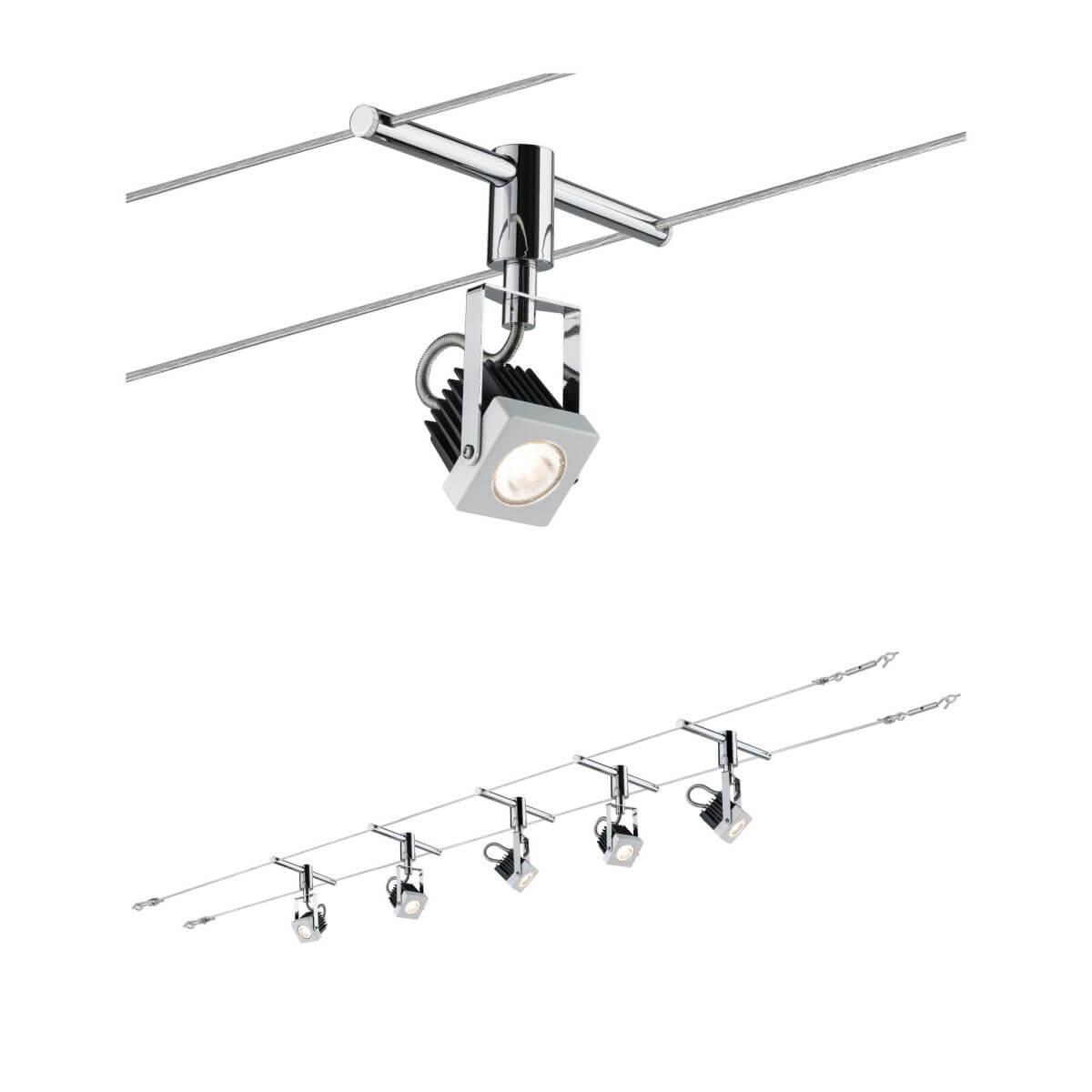 Paulmann LED Seil-Set,5x5W, Mezzo, 12V, Weiß
