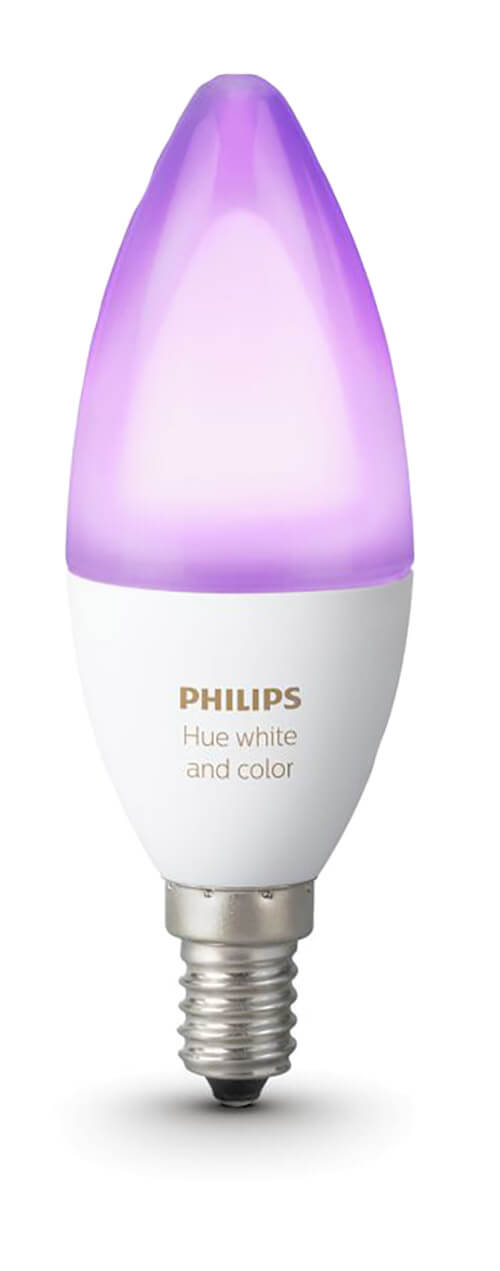 Philips Hue White and Color Ambiance E14 Kerze