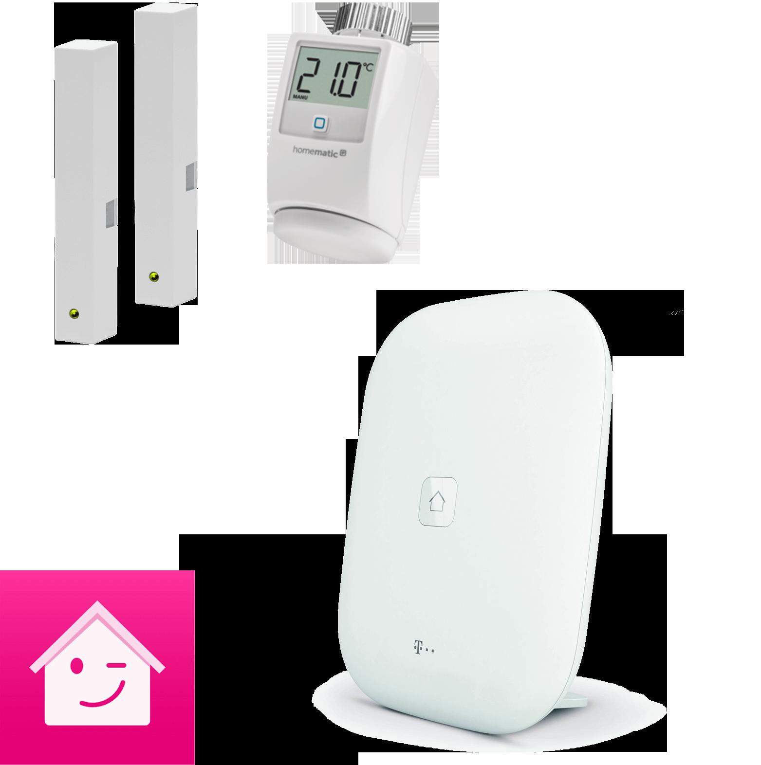 Energie Startpaket mit Magenta SmartHome