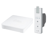 Smart Home Set Schellenberg Smart Friends Box + Elektrischer Gurtwickler Rollodrive Premium 65