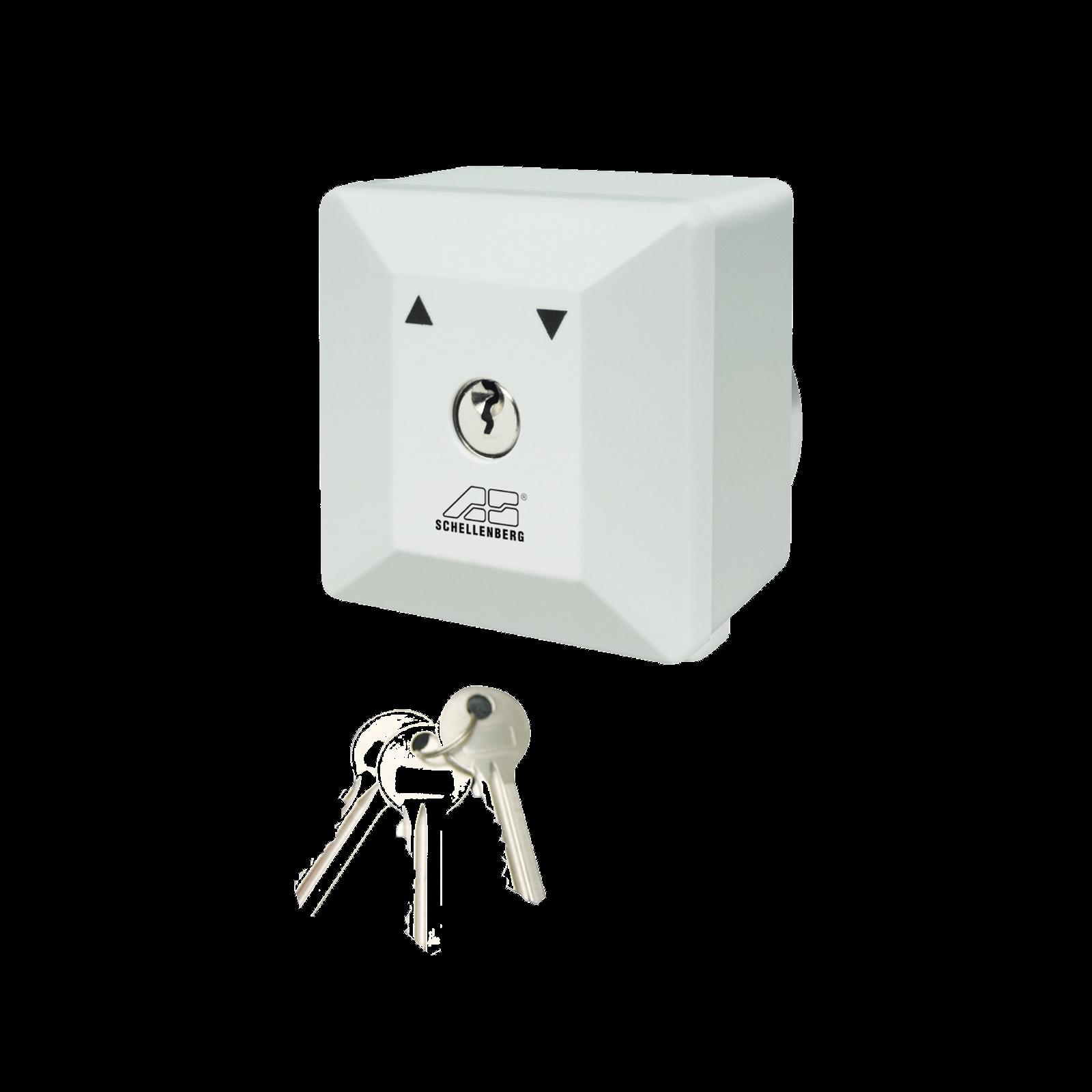 Schellenberg Schlüsselschalter für Torantriebe Aufputz und Unterputz