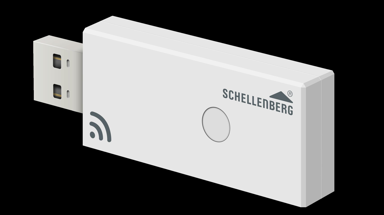 schellenberg funk stick zur integration von rollladenantrieben in das magenta smarthome smart. Black Bedroom Furniture Sets. Home Design Ideas