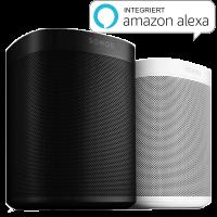 Sonos One Smart Speaker mit Alexa-Sprachsteuerung | Lautsprecher mit Alexa