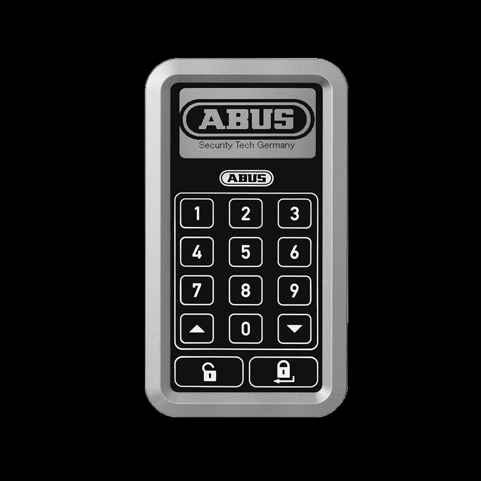 ABUS HomeTec Pro Funk-Tastatur in silber