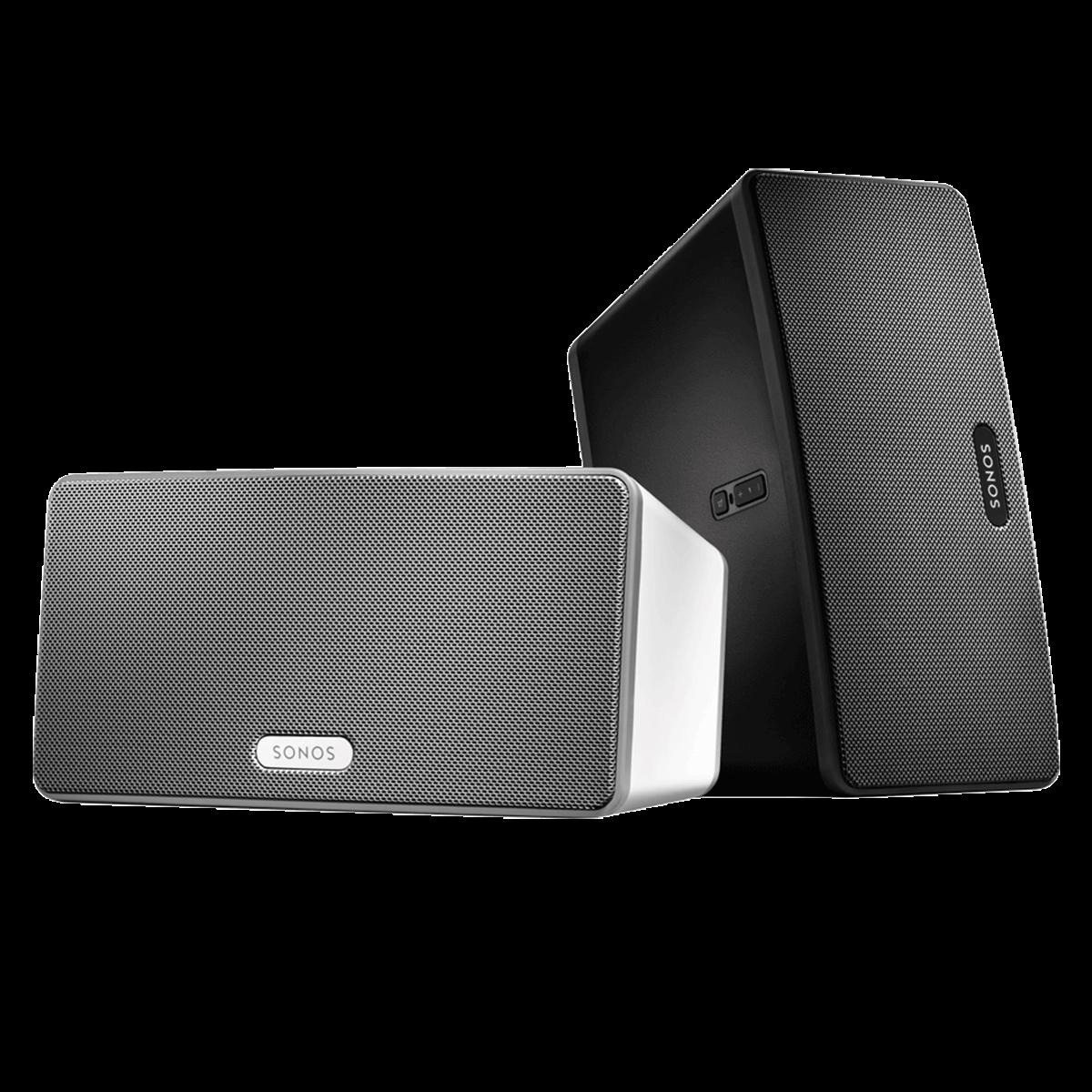 Sonos PLAY:3 | Mittelgroßer Speaker mit Stereo Sound