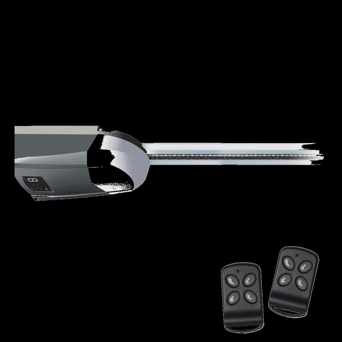 Schellenberg Smart Drive 14 Premium Garagentorantrieb inklusive 2 Handsendern max 14,0 m² Torfläche