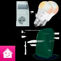 Aktion: Licht Starterpaket mit Magenta SmartHome, inkl. der neuen Home Base 2