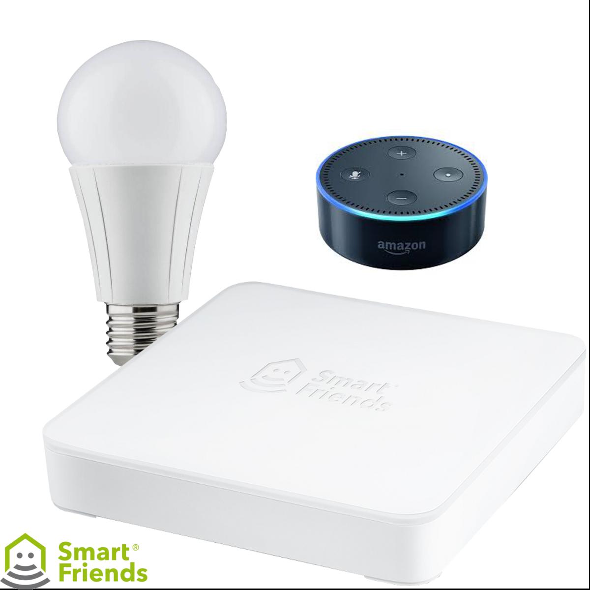 SmartFriends Starterset Innenbeleuchtung + Echo Dot