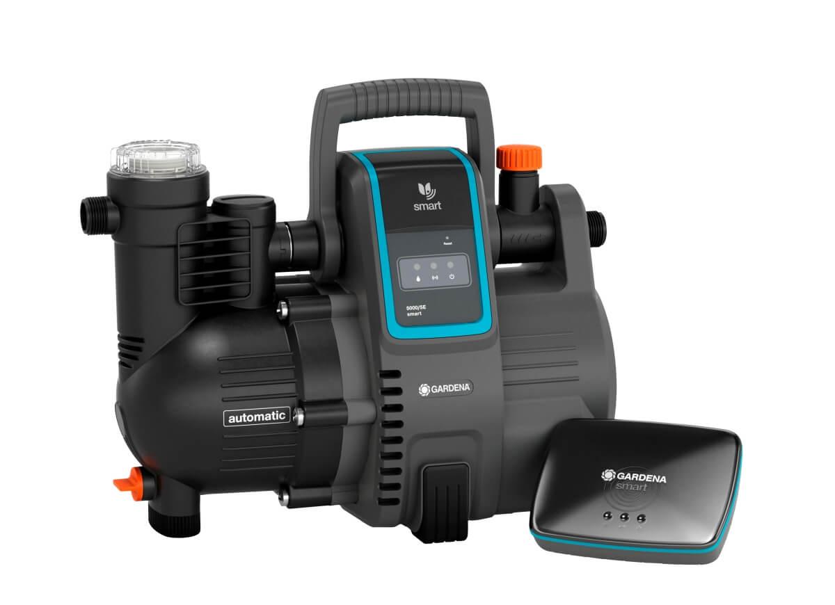 GARDENA smart Haus- & Gartenautomat 5000/5 + Gateway   Wasser pumpen für Brauchwasserversorgung