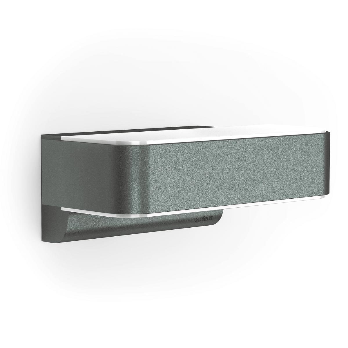 Steinel Außenleuchte L 810 Anthrazit Wandlampe Aluminium 12,5 W,