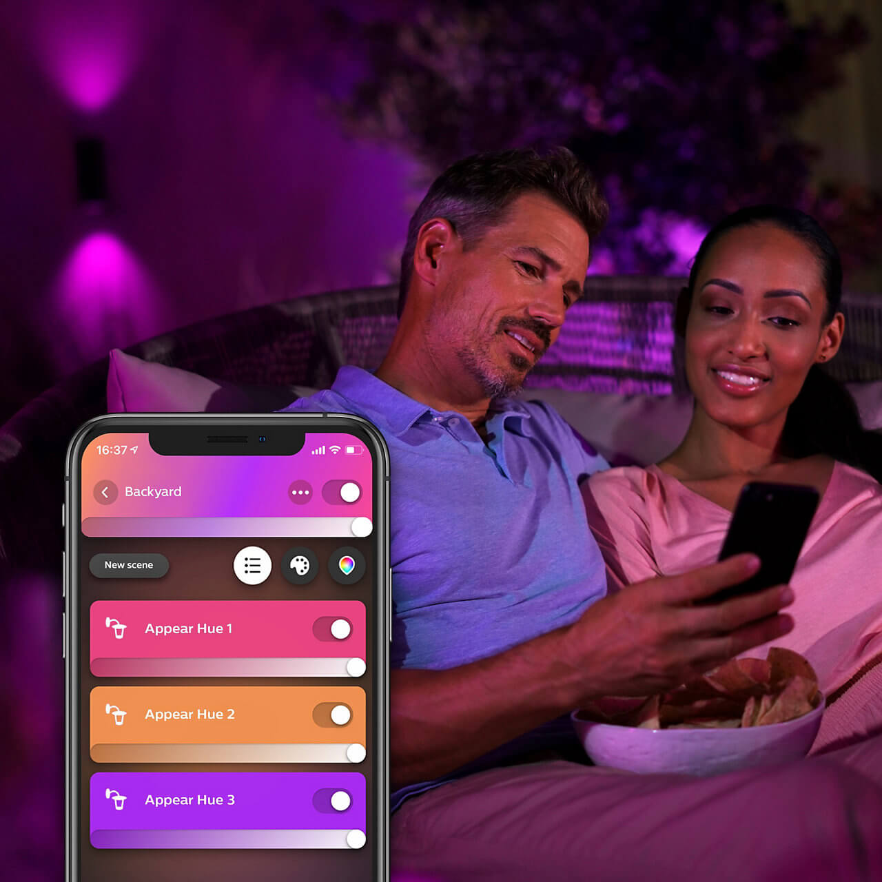 Philips Hue Appear Außenbeleuchtung