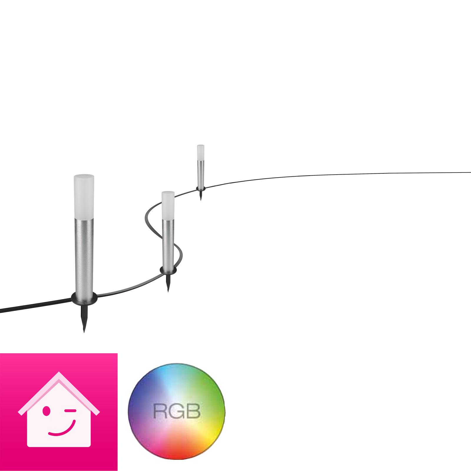 Osram LIGHTIFY GARDENPOLE RGBW Erweiterung