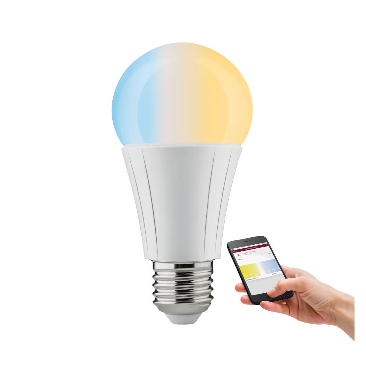 Paulmann SmartHome ZigBee LED AGL Soret 8,5 W E27 Tunable White, App-Steuerung