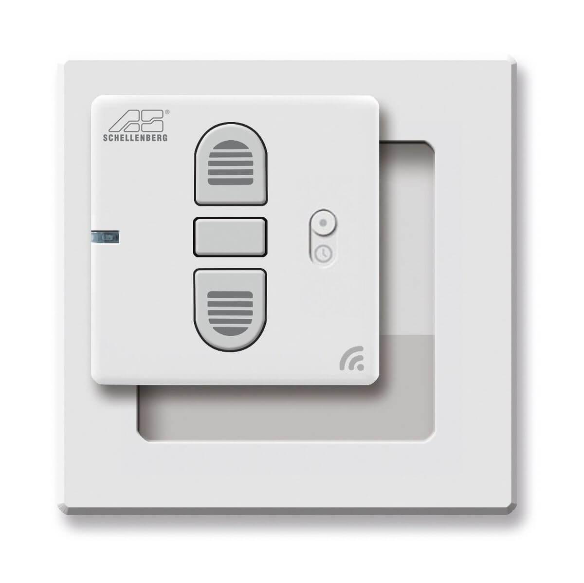 Schellenberg Funk-Zeitschaltuhr für Funk-Rollladenantriebe und Funk-Markisenantriebe