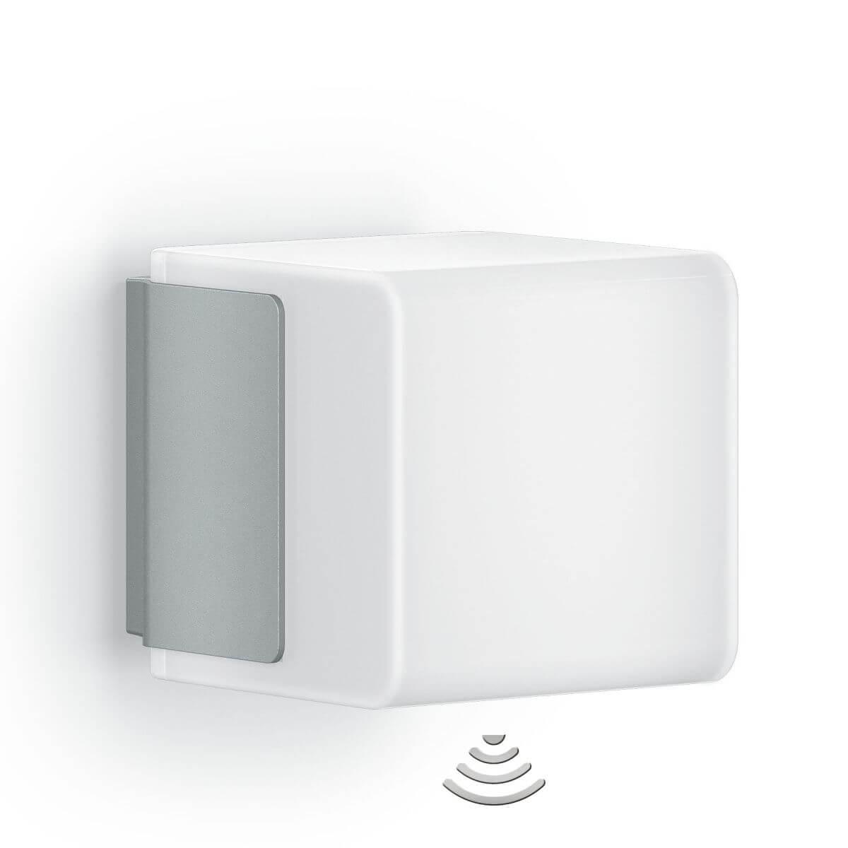 STEINEL Wandleuchte Cubo L835 LED, mit Bluetooth und Bewegungsmelder Wandlampe mit Sensor