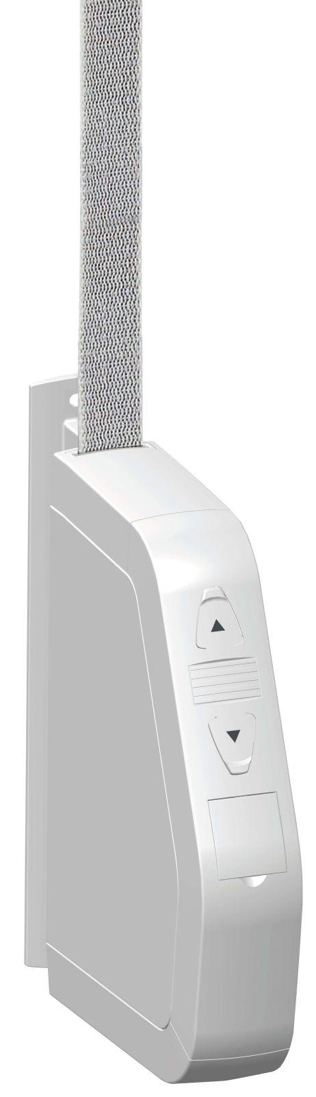 Superrollo Schwenkwickler GW185 | elektrischer Gurtwickler, Mini-Gurte (15 mm Breite), Aufputz