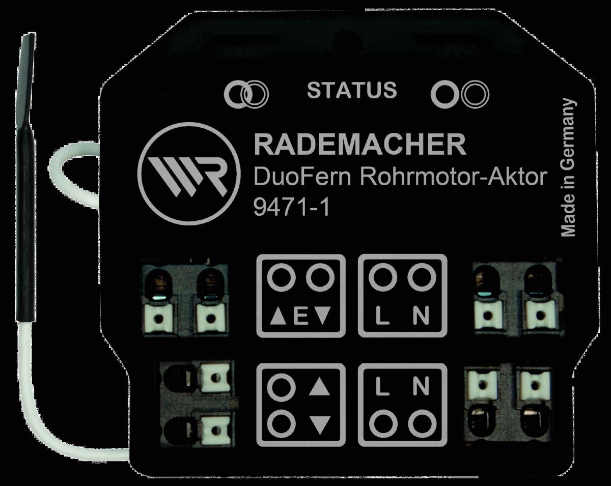 Rademacher Rohrmotor-Aktor Unterputz, potentialfrei, DuoFern-Funk