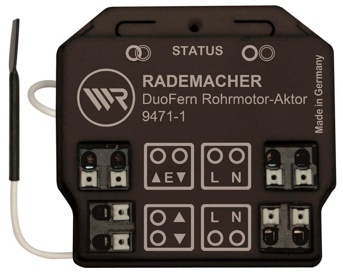 Rademacher DuoFern Motor-Aktor potenzialfrei 9471-2  - Funkfähiger potenzialfreier Unterputz Funkaktor für Motoren