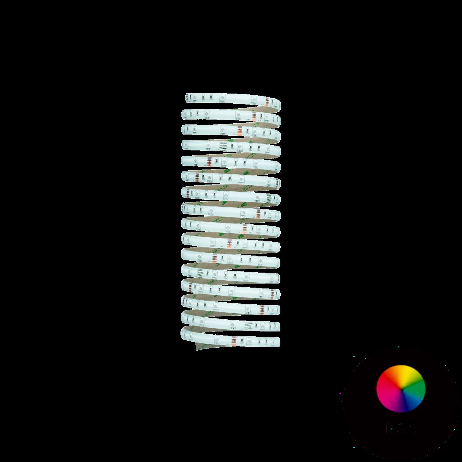 Paulmann LED-Strip Flaex 5 m - RGB Farblichtsteuerung