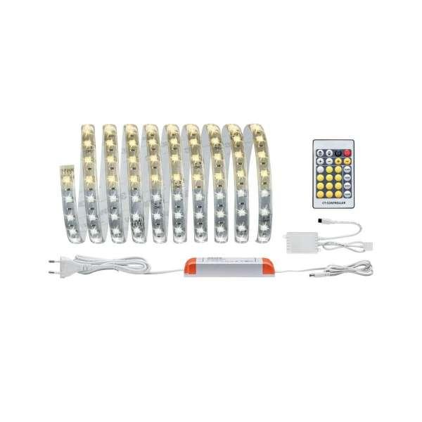 Paulmann MaxLED Tunable White Basisset beschichtet 3 m 20 W mit Weißlichtsteuerung