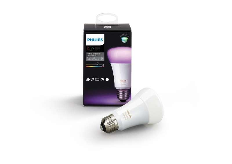 Philips Hue Lampen schaffen das perfekte Licht