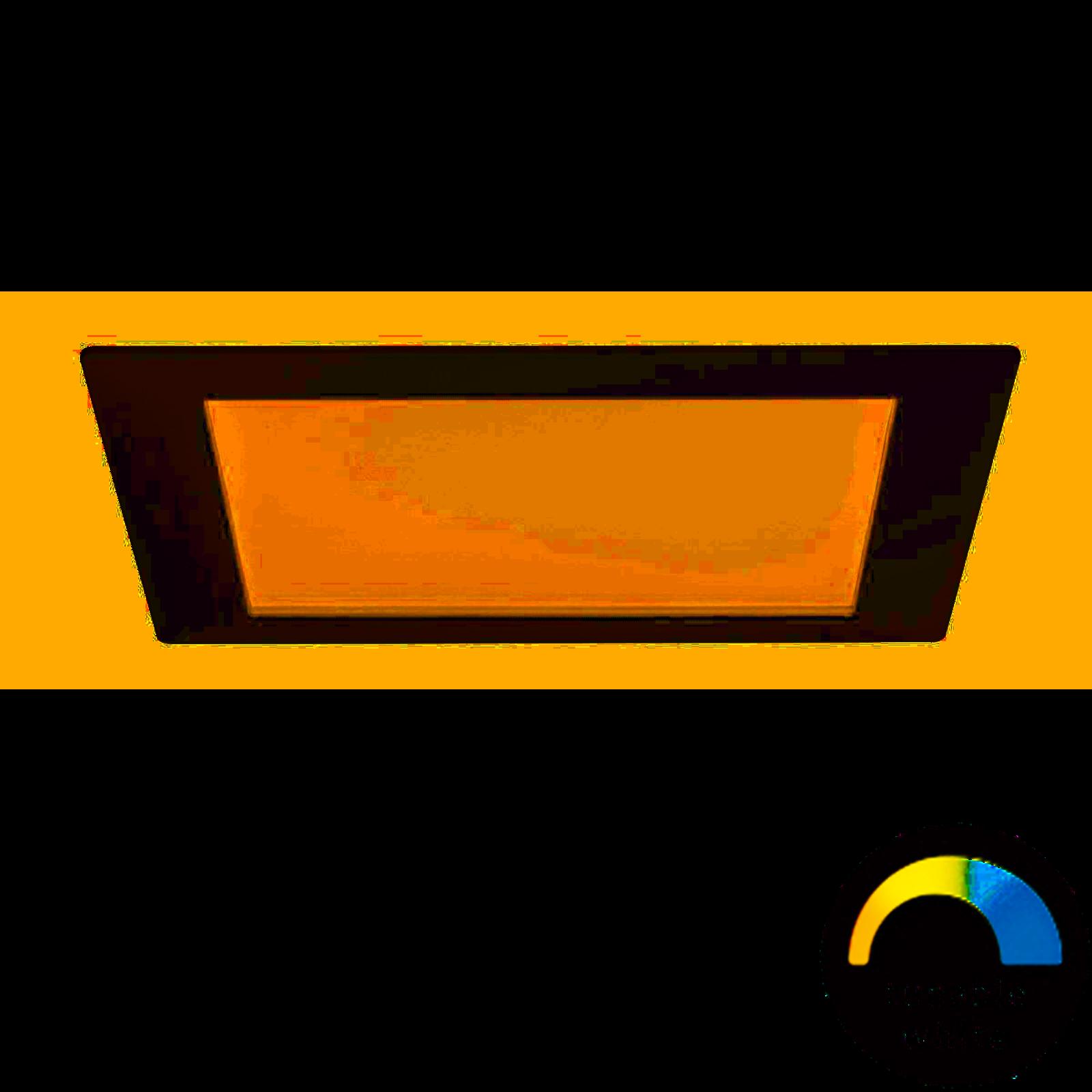 Paulmann LED Einbaupanel eckig 13,5W Weiß mit tunable White Weißlichtsteuerung