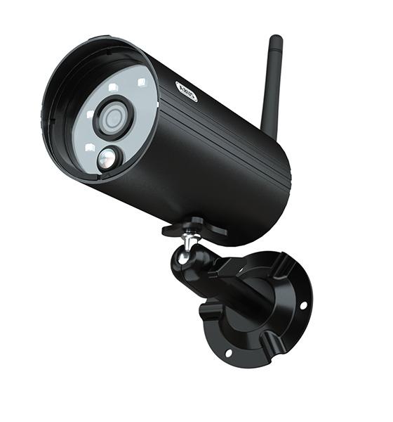 ABUS OneLook Überwachungskamera Außenbereich PPDF14520 schwarz | Infrarot Nachtsicht 1080p Auflösung
