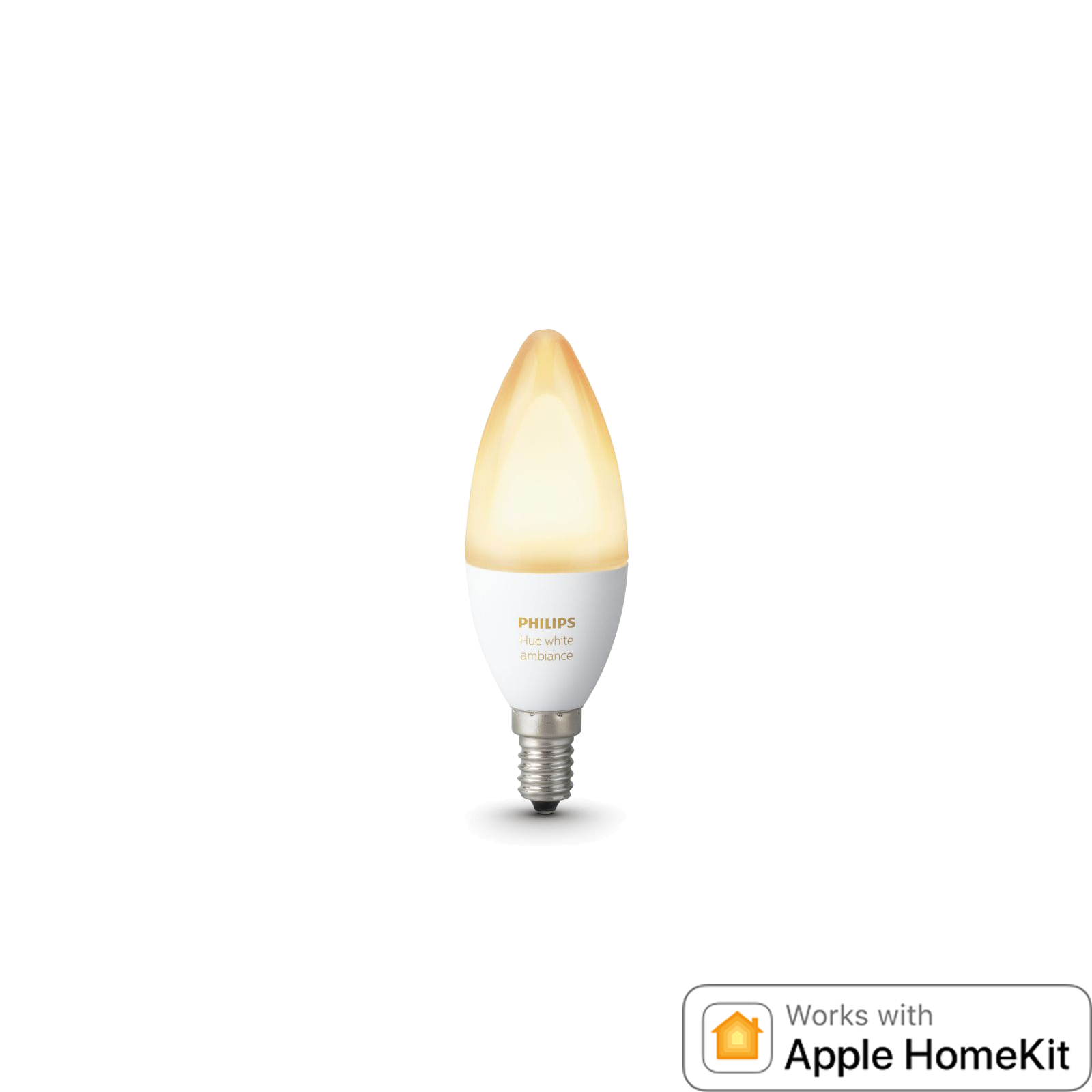 Philips Hue White Ambiance E14 Kerzenlampe