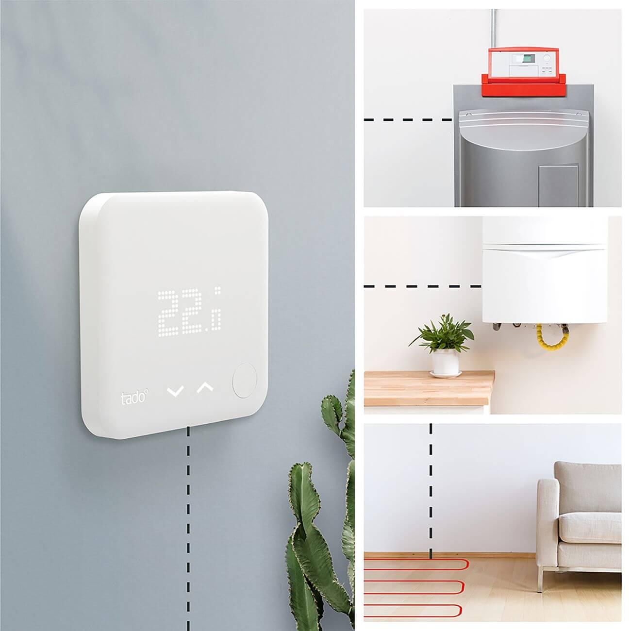 Smartes Thermostat von tado