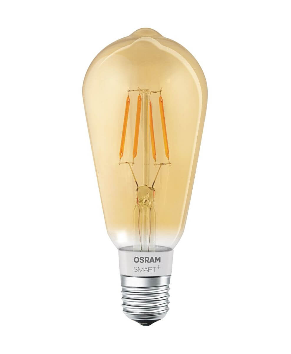 Osram Smart+ Apple Homekit Filament LED Edison 5,5 W Dimmbar E27 Bluetooth