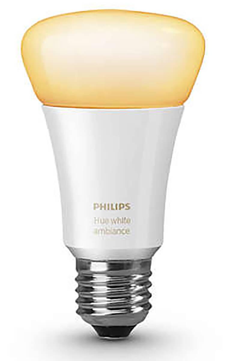 Philips Hue LED E27 White Ambiance   Warmweißes Licht   dimmbar