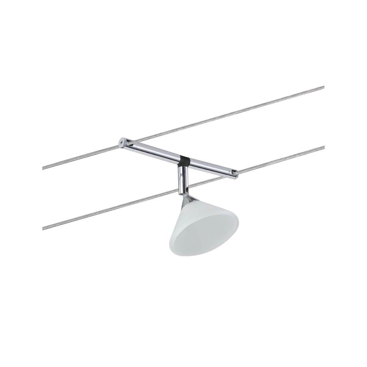 Paulmann Seilspot Colmar Chrom ohne Leuchtmittel, 12 V AC, max 10 W GU4