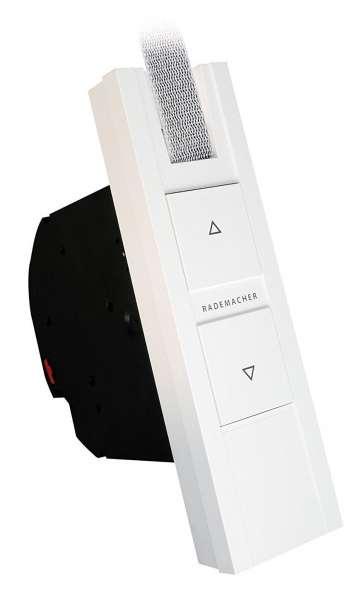 Rademacher RolloTron Basis 1100 | elektrischer Gurtwickler Unterputz für Maxi-Gurte 23 mm Breite Wei