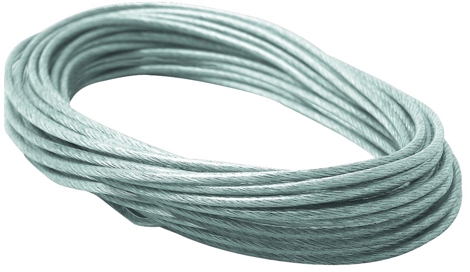 PaulmannSeil-Zubehör, Spannseil isoliert, 12m, 4mm², Klar
