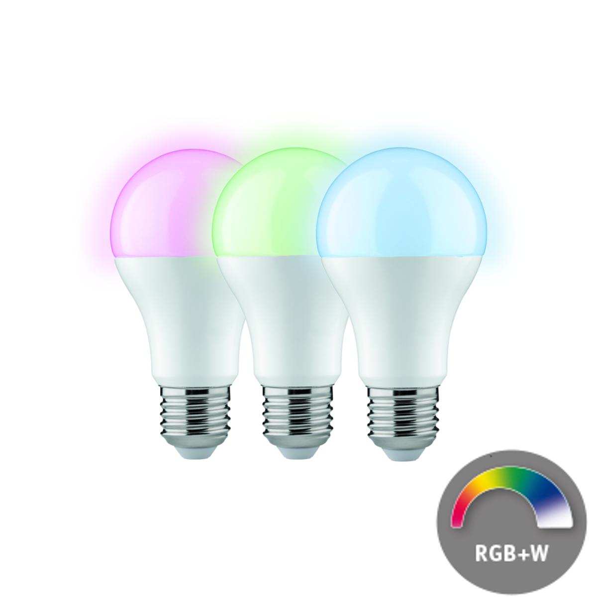 Paulmann LED Boyn 3er Vorteilspaket 9 W - RGBW Farblichtsteuerung