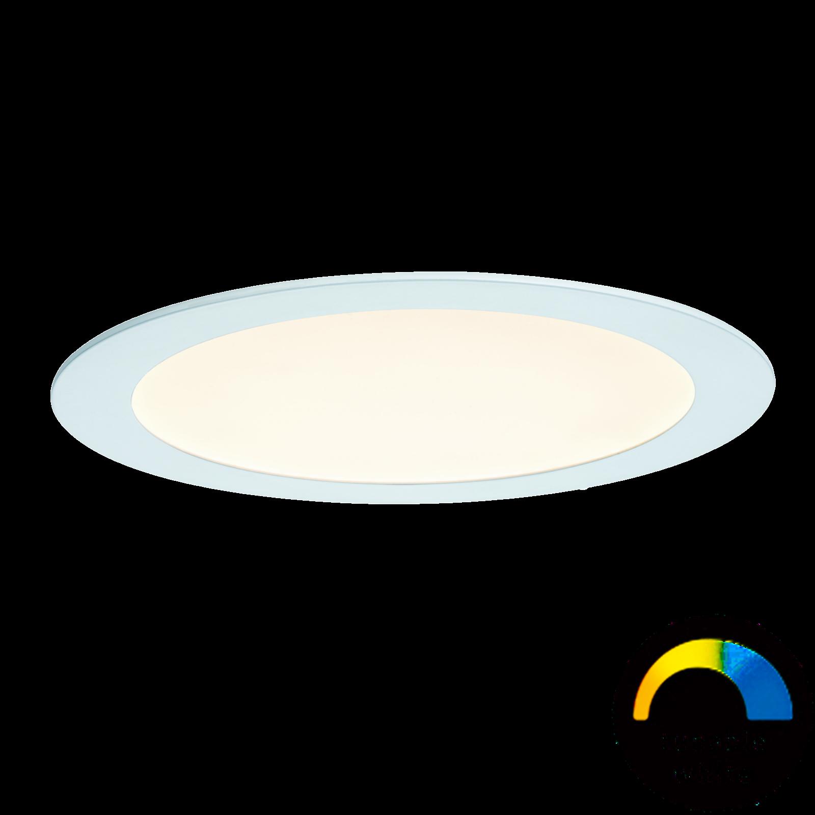 Paulmann LED-Einbaupanel rund - Weißlicht-Steuerung & App-steuerbar